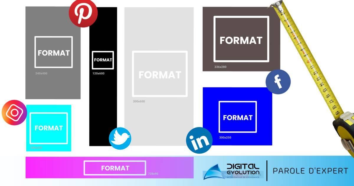 Comment choisir la bonne taille d'image pour le bon réseau social - Digital Evolution